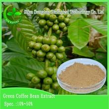 arabica e robusta rinfusa chicchi di caffè verde per la vendita