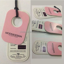 gloss lamination plastic hang tag