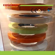 0.25-3mm PVC edge banding, Wood grain edge banding tape, Solid color edge strip for furniture board