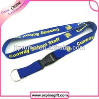 Cheap Custom lanyard ribbon keychain