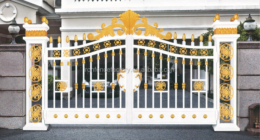 wholesale 2016 main gate designs ce standard aluminium