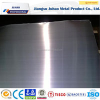 Long term export experience hairline NO.4 stainless steel plate