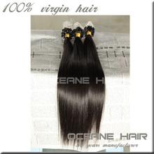 indian remy hair keratin hair extensions 1g/s micro ring loop hair extension
