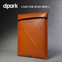 Fashion premium handmade genuine leather case sleeve cover for Apple iPad Mini 1 for 8 inch tablet covers cases-Taurus