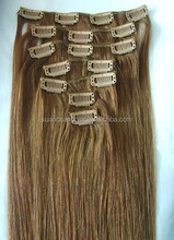 wholesale price remy human hair extension hot one piece clip in human hair extensions