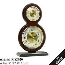 Wooden carved clocks decorative table clocks