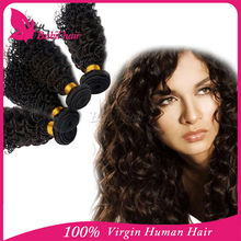 2015 hot sell lovely human hair extension 10-30inch eurasian curly hair