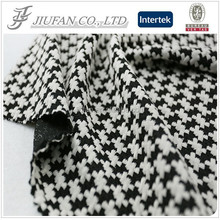Jiufan Textile Knitted Heavy Weight Polyester Rayon Spandex Jacquard Single Jersey Fabric For Garment