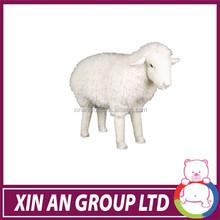 Stuffed plush long shape sheep toy design children pillows