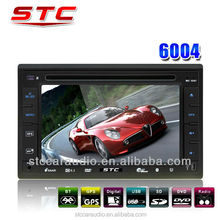 Made in China Digital Universal 2 Din Car DVD Multimedia Player with Cheap Price and Perfect Performance STC-6004