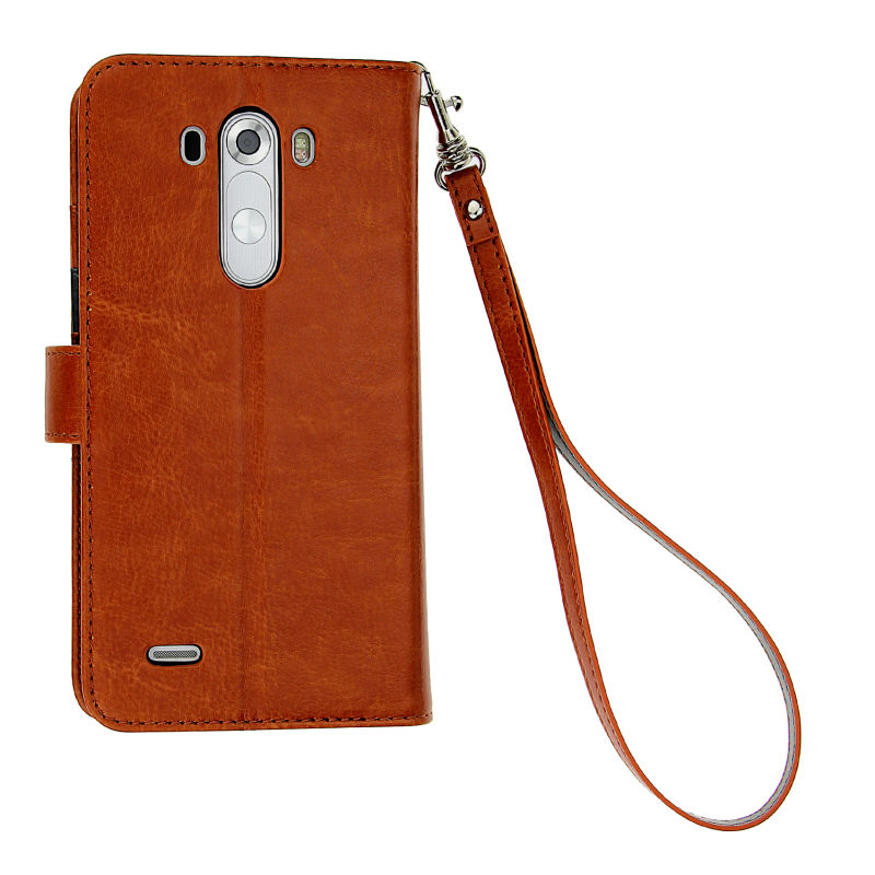 Vintage style Leather wallet case for LG G3, Mobile phone PU case for LG G3 ,stand phone case for LG G3 hot sales in USA .
