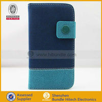 Hybrid Leather Wallet Flip Pouch Case for Samsung Galaxy S4 I9500