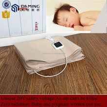 2015 Wholesale 100% pure cotton far infrared electric heating pad(Customized)