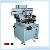 High High quality Semi- automatic pneumatic flatbed screen printer with T-slot work table supplies for appliance