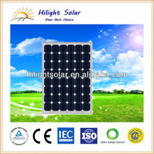 solar panel 195W for photovoltaic electric power system