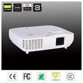 De alto brillo& multimedia de calidad full hd 3d led proyector