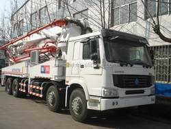 sell concrete pump truck with 24m/37m/39m/42m/45m/48m/52m