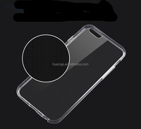 Mobile accessories soft tpu silicone transparent clear crystal cases for iphone 6s tpu case china price
