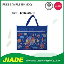 Drawstring pvc non woven bag/printed tote non woven bag/silver foil pp non woven bag