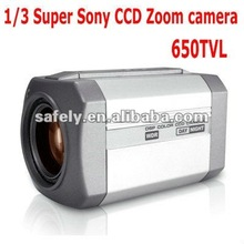 650TVL sony 1/3'' CCD dsp 27x digital zoom color video camera