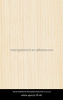 artificial apricot timber wood laminated veneer sheets for decoration furniture