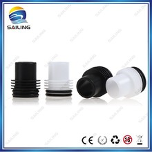 Sailing 2014 Christmas e cig new hot item gift delrin stainless steel chuff enuff drip tip wholesale