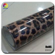 TSAUTOP PVC Stretchable Self Adehesive Top Quality Imitation Skin Sticker Car Vinyl Roof