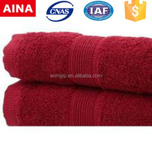 China Top 10 Towels' supplier high quality 100% cotton Jacquard weave white makeup remover towel