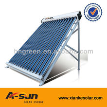 Swimming pool solar water heater non-pressure vacuum tube solar collector for large-scale solar project12
