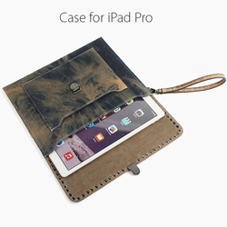 Best sell shockproof sleeve tablet case western cowboy leather case for the new ipad pro