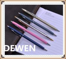 hotel supplies metal twist pen,wholesae metal ball pen with good quality