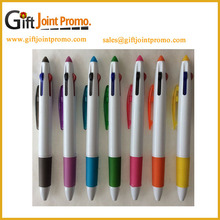 China Wholesale Advertising Custom LOGO 4 Colors Ballpoint Pen