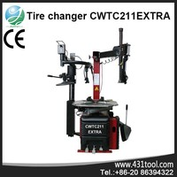 CWTC211EXTRA tyre spot repair machine with universal lever-less mounting head