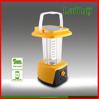 portable LED 110v solar camping rechargeable battery emergency camping lantern