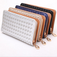 2015 new fashion hand made out of a variety of classic rim color women wallet purse wallet long section of the square wallet