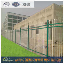 2015 Plastic Coated Steel Palisade Security Fence (professional factory )