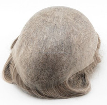 100% Indian hair ultra thin skin invisible toupee for men in stock