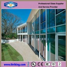 wholesale double coated aluminum mirror sheet in buildings