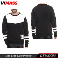Factory Price Casual Slim O-Neck men sportswear cotton sweatshirt