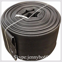 raw material agricultural grade pvc layflat hose 1-10 inch agricultural irrigation pipe in linyi