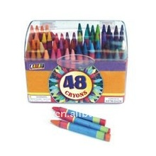 twist up 8c crayons set for children to draw(dia1.4cm)