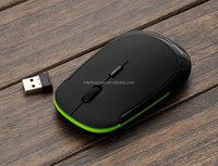 Cosmos Black 2.4G RF optical wireless USB mouse for macbook 13 Inch PRO AIR 11 Inch DELL ACER