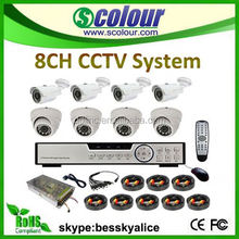 security equipment,8ch special car rear view camera for honda city complete cctv system