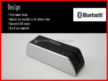 free dhl or ems ship bluetooth wireless usb mobile card reader magnetic card reader msr x6bt compatible msr605 msr606 msr206