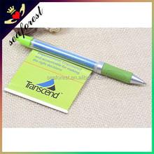 custom logo projector pen,advertising plastic ballpoint pen,promotional banner pen