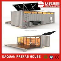 cheap ready made flat pack expandable prefabricated two-storey luxury living container house for sale