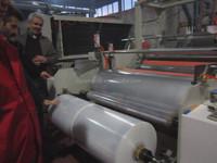 double layer film extrusion machine/5 layer blown film machine