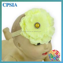 Girls Flower Headbands Clip Bling Center Wedding Bridal Korean Hair Fashion Accessories