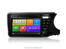 for Honda City 2014 RHD dvd car audio gps navigation system