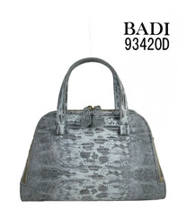 Famous brand design lizard PU leather tote bag